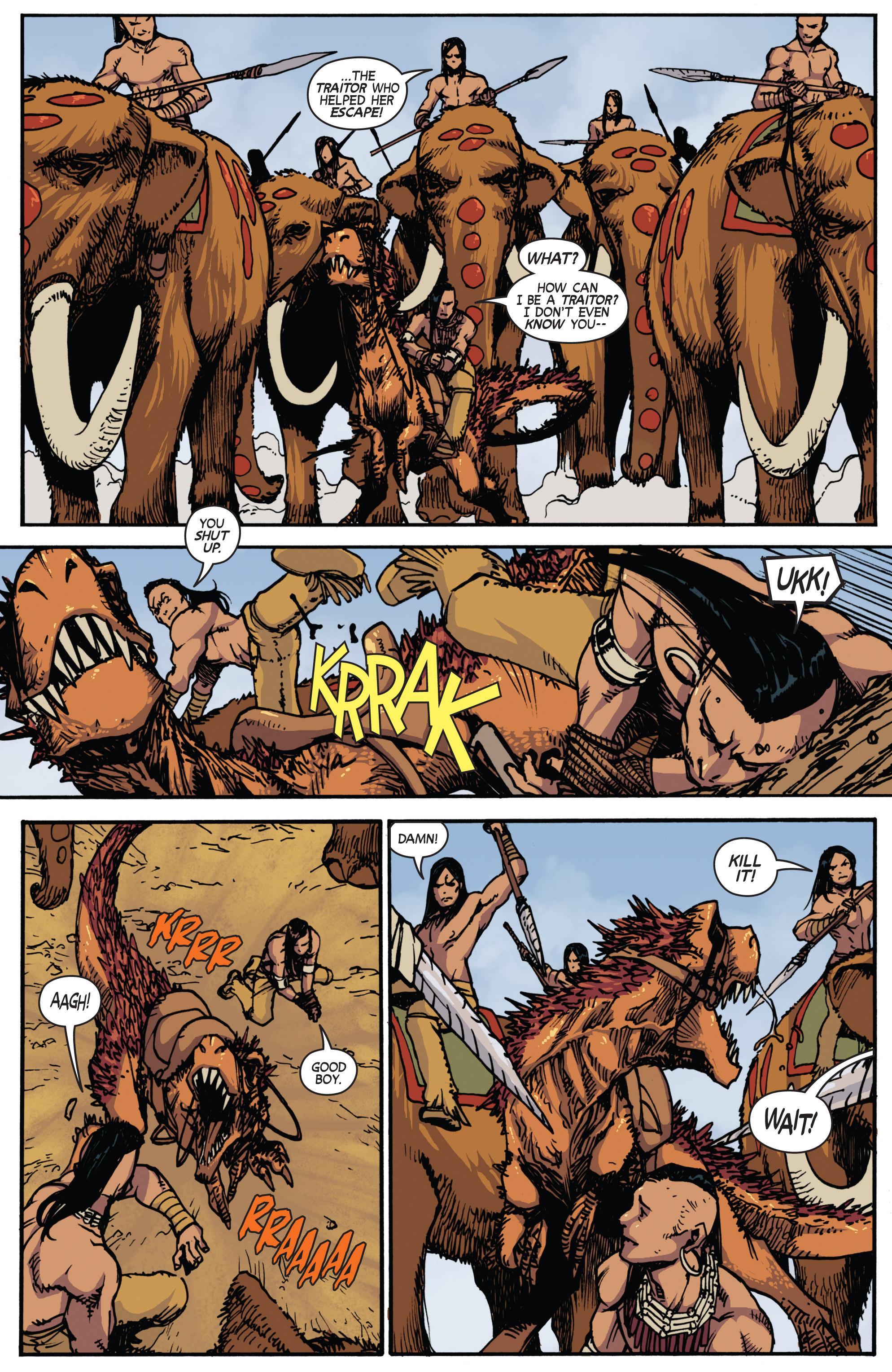 Read online Turok: Dinosaur Hunter (2014) comic -  Issue # _TPB 2 - 27
