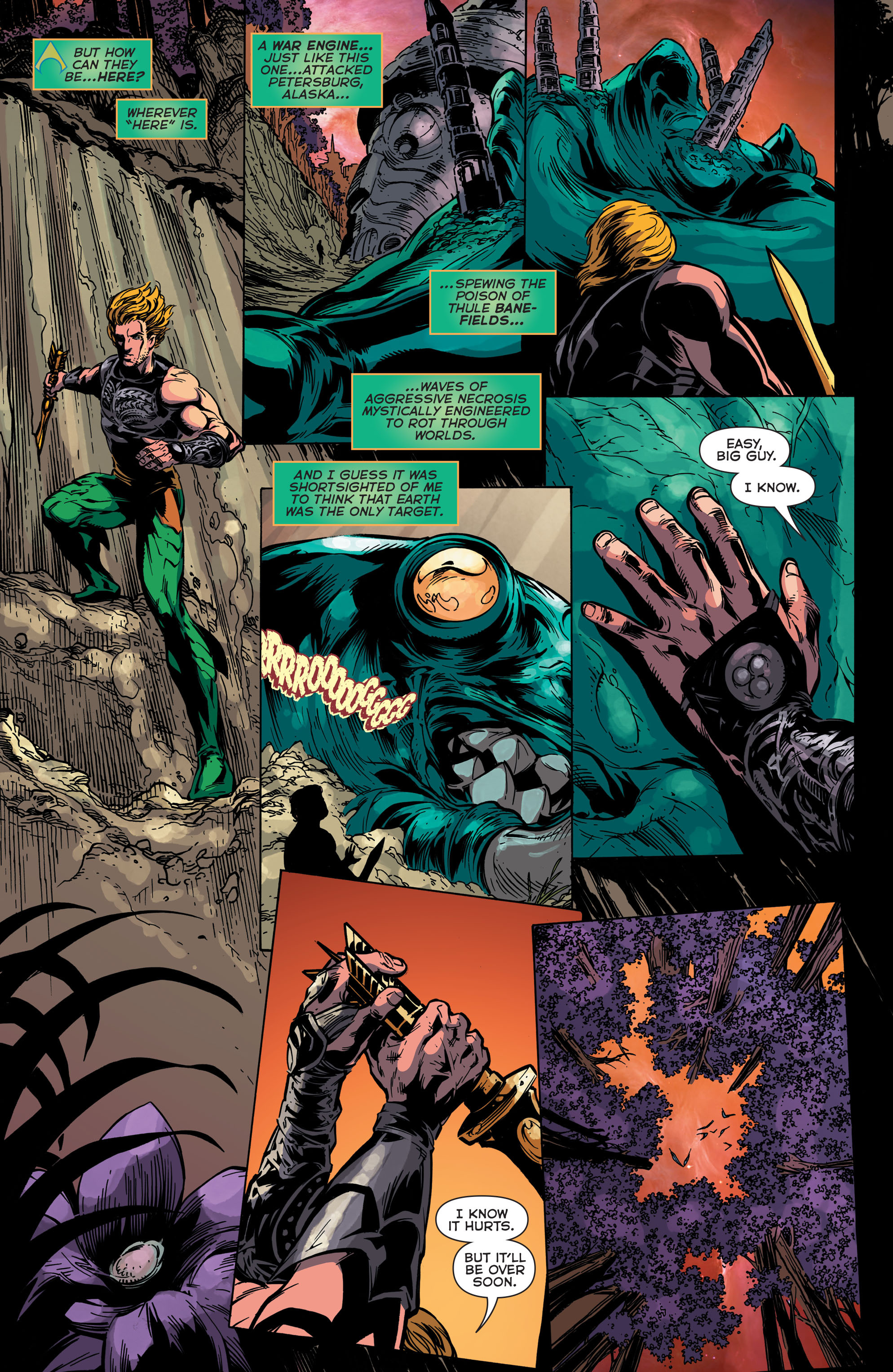 Read online Aquaman (2011) comic -  Issue #45 - 10