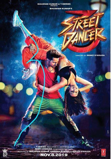 Steet Dancer Movie First Look, Poster, Steert Dancer Poster