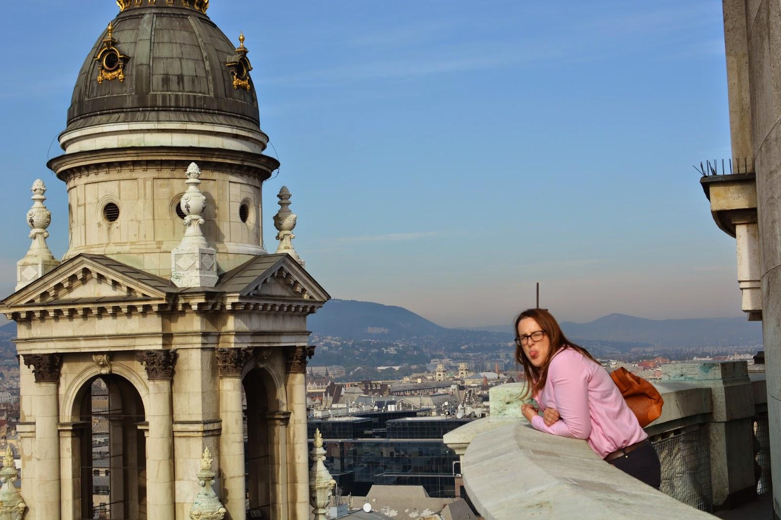 St Stephen's Basilica Dome Budapest