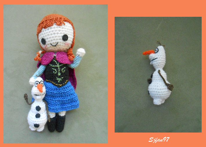Oui Crochet: Crochet Olaf From Frozen {Pattern Review} | 508x710