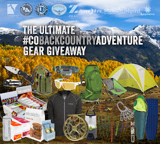 Enter the $3,000 Colorado Backcountry Adventure Gear Package Giveaway. Ends 10/17