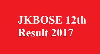 JKBOSE 12th Result 2017