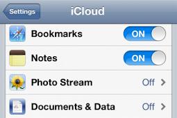 Cara Backup iCloud Secara Manual (OTA)
