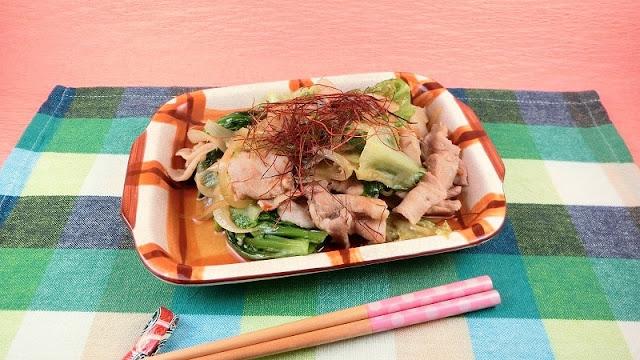 リーフレタス大量消費レシピ!ご飯がすすむエスニック風豚肉炒め