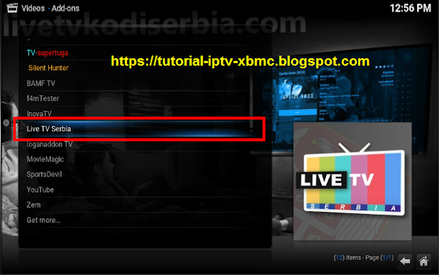 live tv serbia kodi addon serbia repo tutorial iptv kodi android. Black Bedroom Furniture Sets. Home Design Ideas