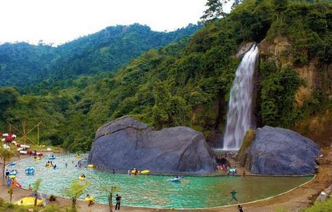 Tempat wisata air terjun bidadari bogor