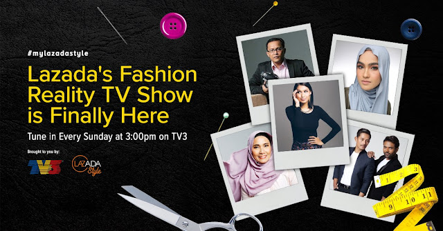 LazAdaStyle Fashion Reality TV Show di TV3