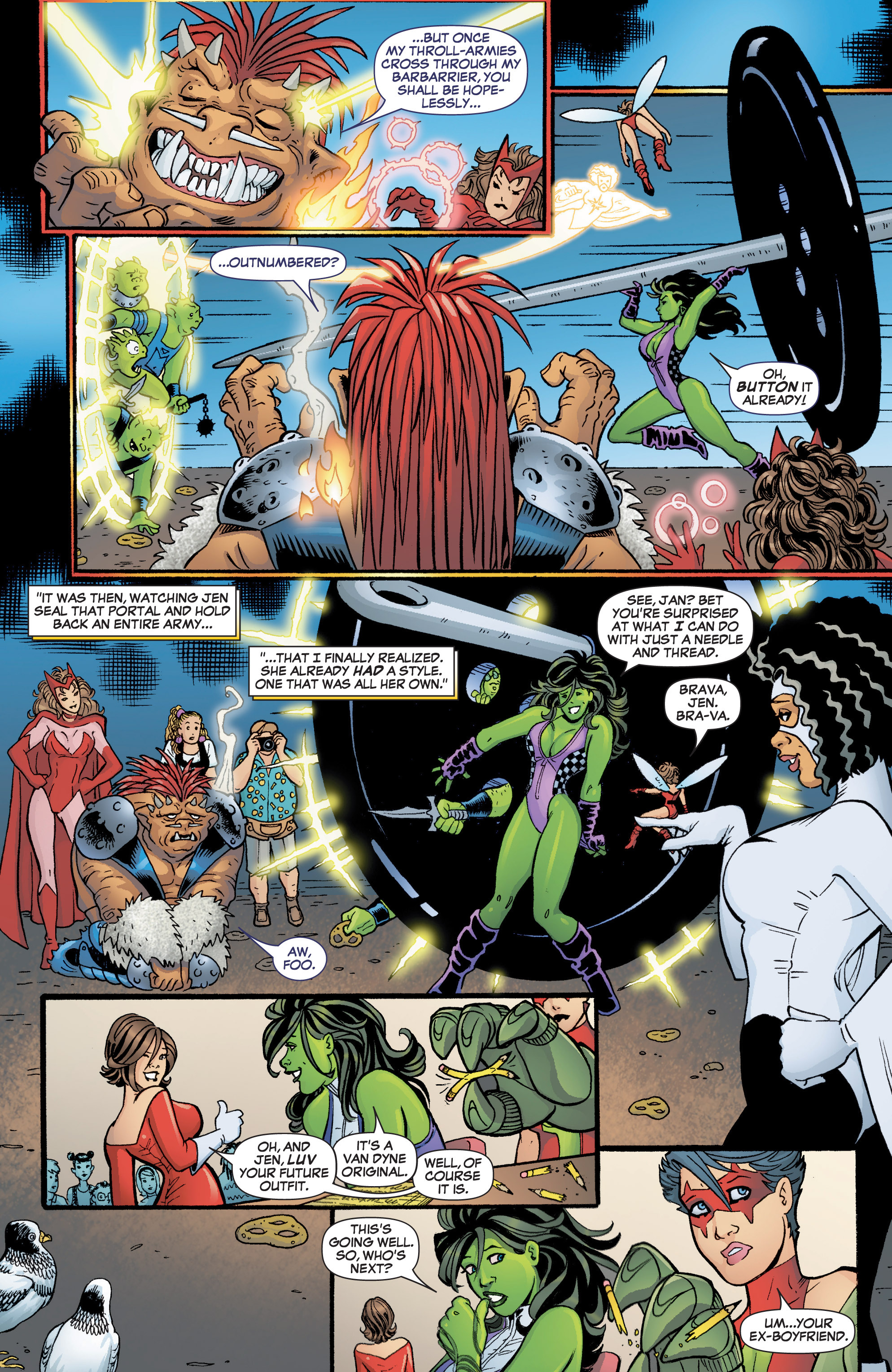 Read online She-Hulk (2005) comic -  Issue #3 - 16