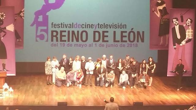 El Festival de Cine y Televisión Reino de León cierra su V edición premiando los mejores trabajos de estos 14 días de proyecciones