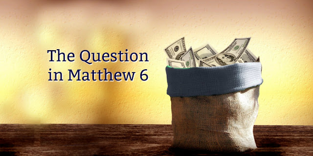 Where's Your Bank - are you storing up treasures in heaven or on earth?