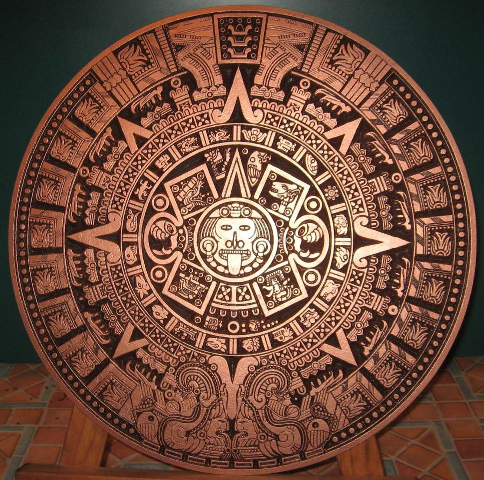 cncnutz making an aztec calendar part 1 episode 149