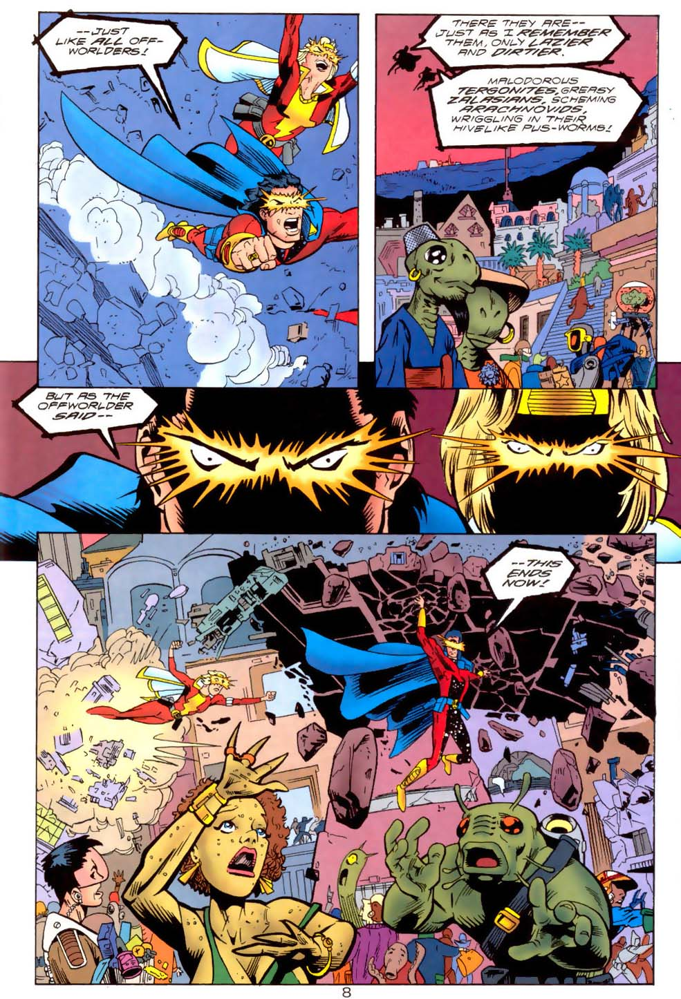 Legion of Super-Heroes (1989) 111 Page 8