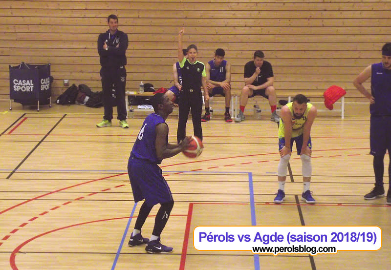 Pérols Basket vs Agde Basket