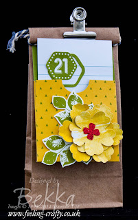 Gift Tag made using the Gratitude for Days Simply Created Kit from Stampin' Up! get yours here
