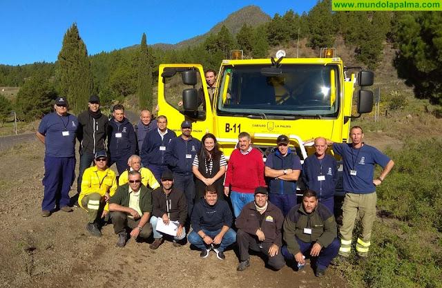 La Consejería de Emergencias forma a los conductores de vehículos especiales del Cabildo