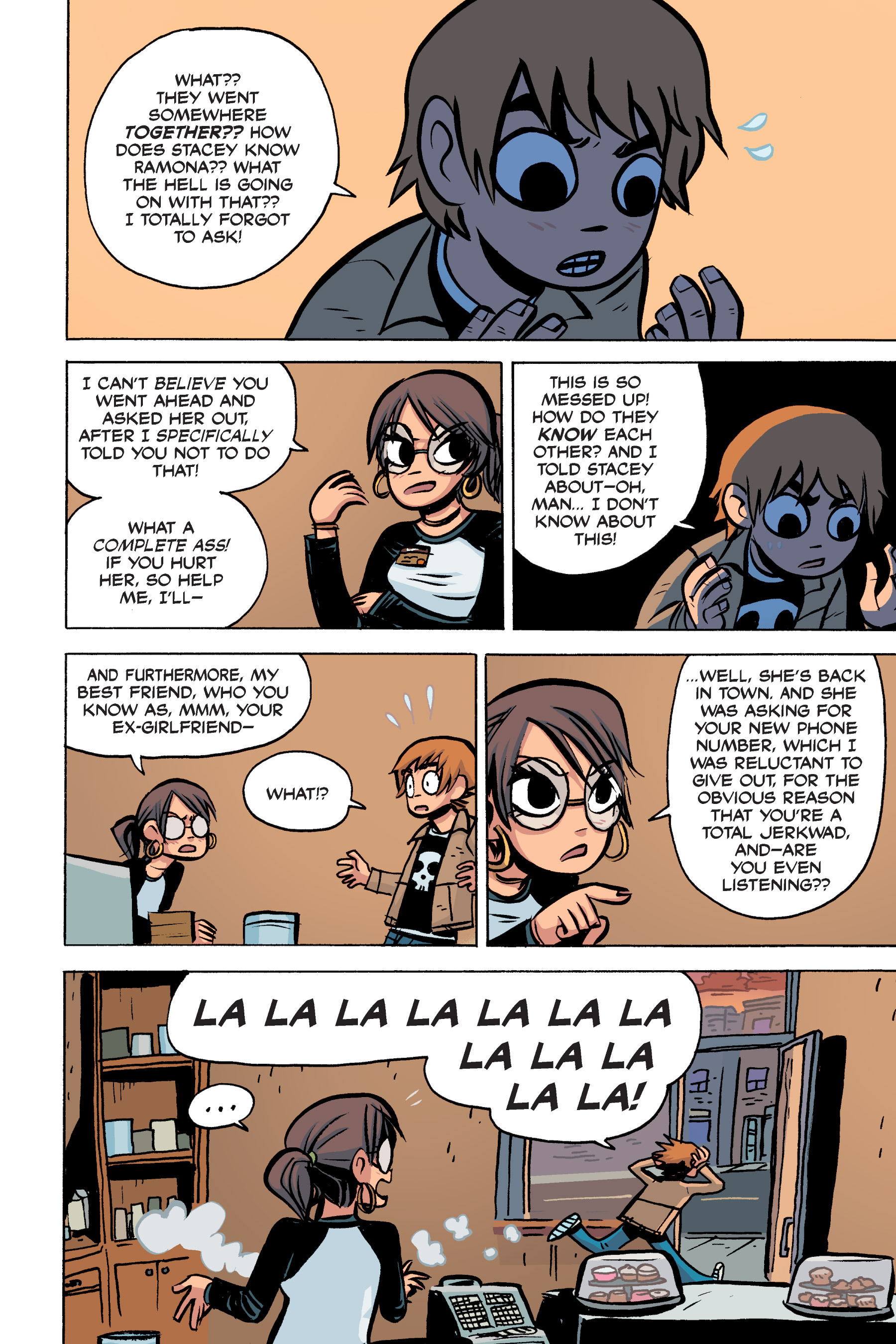Read online Scott Pilgrim comic -  Issue #2 - 126