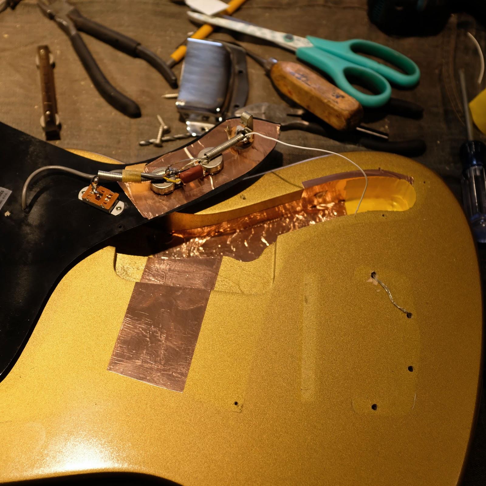 workshop 39 60s electric guitar wiring improvements. Black Bedroom Furniture Sets. Home Design Ideas