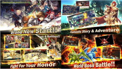 Kings Raid MOD Apk Android Full Unlocked Characters Terbaru