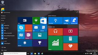 Windows 10 home start