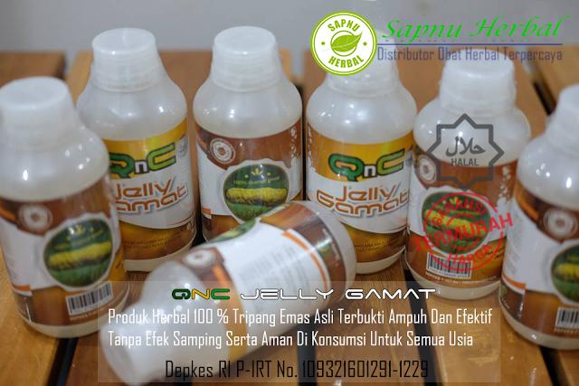 QnC Jelly Gamat Obat Herbal Hematuria / Darah Dalam Urin, Mengobati & Menyembuhkan Secara Alami Hingga Tuntas serta Efektif dan Aman
