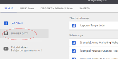 Membuat data source baru