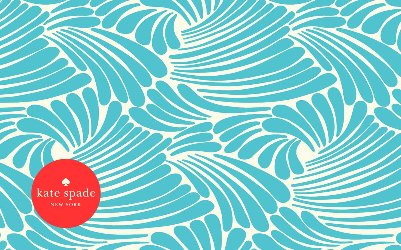 Secret cat rocking secret world: Kate Spade Pattern of the Year 2012