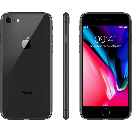 O iPhone 8 é brilhante. Em todos os sentidos