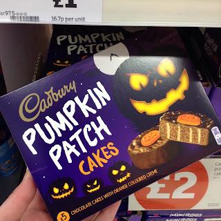 cadbury pumpkin patc cakes