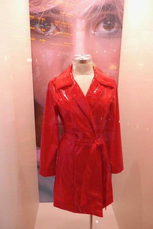 Suki Waterhouse Assassination Nation PVC trench coat