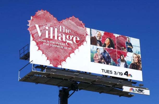 Village series launch billboard