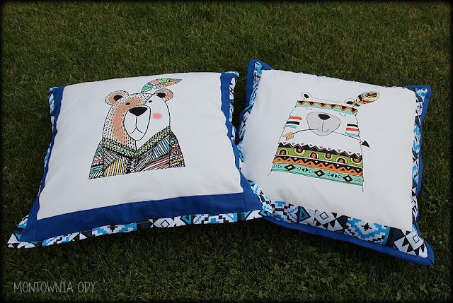 Poduszki z motywem indiańskim
