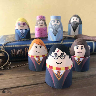 Harry potter Easter egg printables