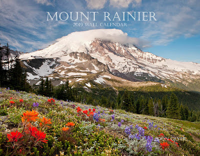 2018 Mount Rainier wall calendar by Don Geyer