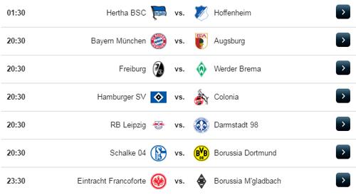 Jadwal Liga Jerman Sabtu 1 April 2017