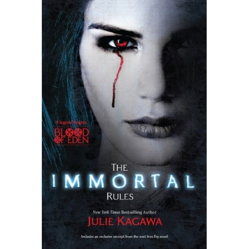 Review- The Immortal Rules by Julie Kagawa - Queen of