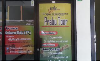 Kantor Travel Prabu Bandara Soekarno Hatta