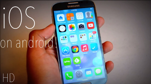 iOS10 SkinPack Android Gratis Terbaru Keren