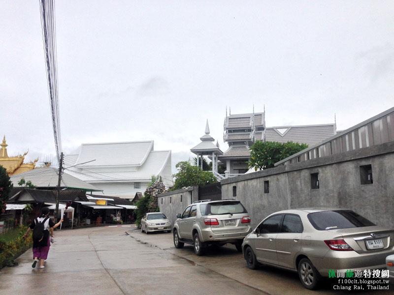 [泰國.清萊] Wat Rong Khun龍坤藝術廟(白廟) 邊境初探緬寮泰金三角