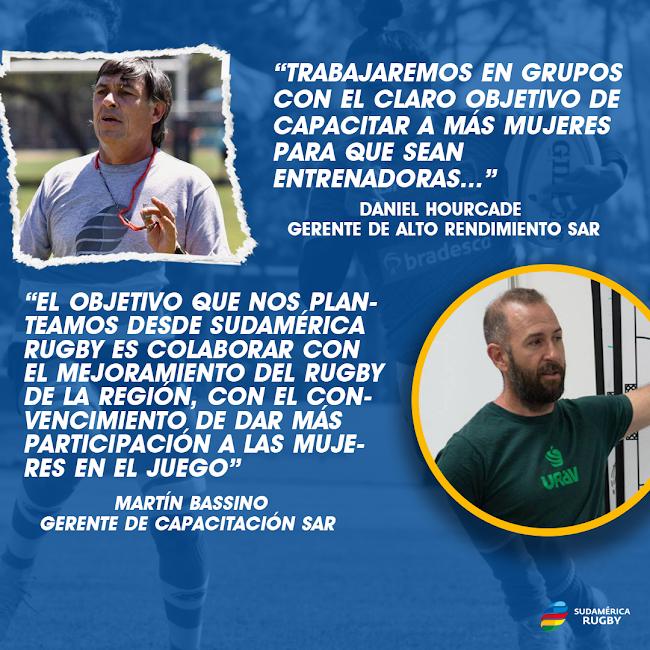 Academia de Coaching Femenino de Sudamérica Rugby