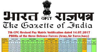 7thcpc-defence-revised-pay-matrix-notification