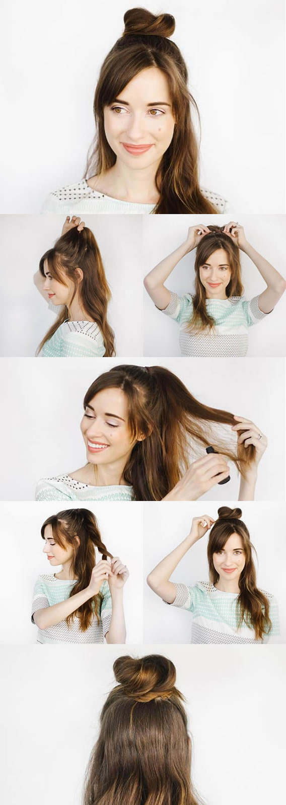 Tutorial Half Bun