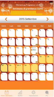 APP CALENDARIO GRAVIDANZA PER IPHONE ED IPAD