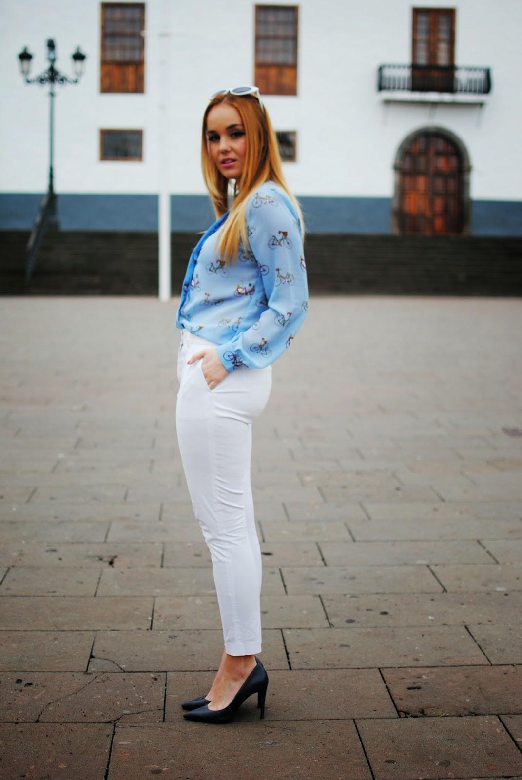 nery hdez, blonde, sugarhill , white pants, zerouv sunglasses, cat sunglasses