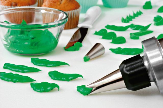 Doraciones con duyas para pasteles y cupcakes