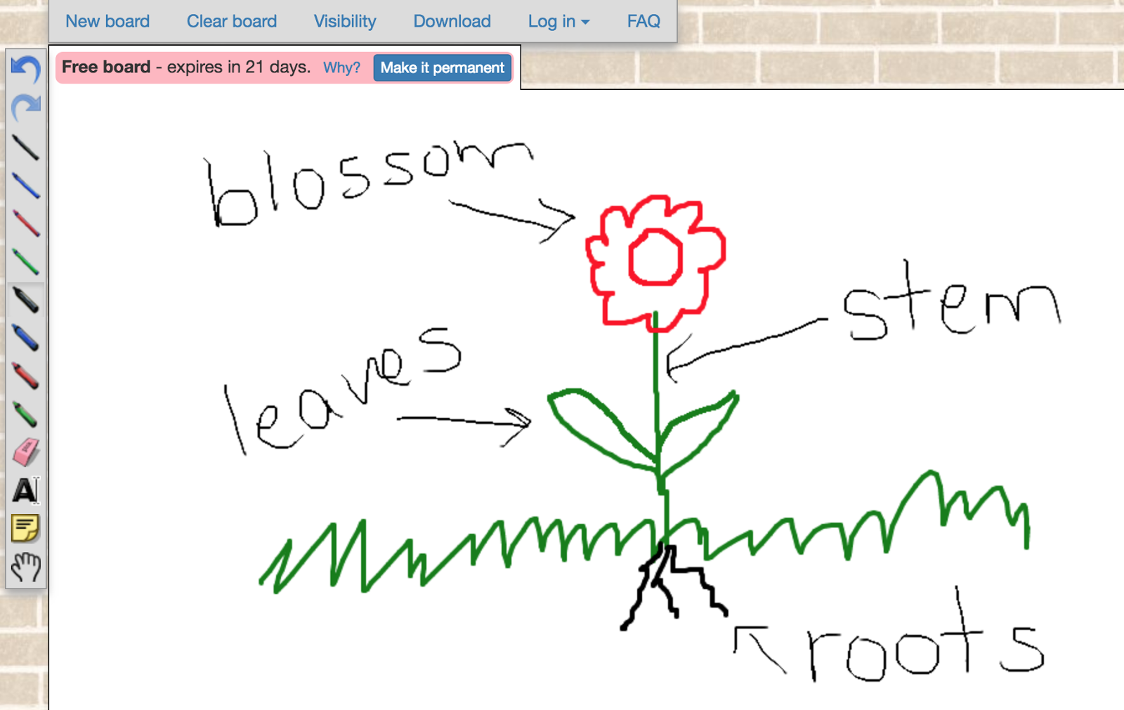 Guiding our students to work together in a digital environment. Example of an activity using Web Whiteboard.