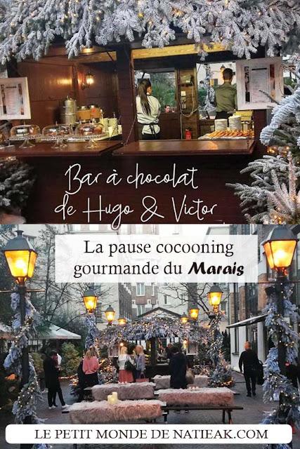 Bar à chocolat de Hugo & Victor aux Jardins du Marais