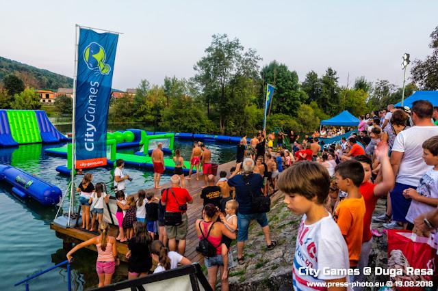 Ljetne igre City Games 2018 u Dugoj Resi, 19.08.2018