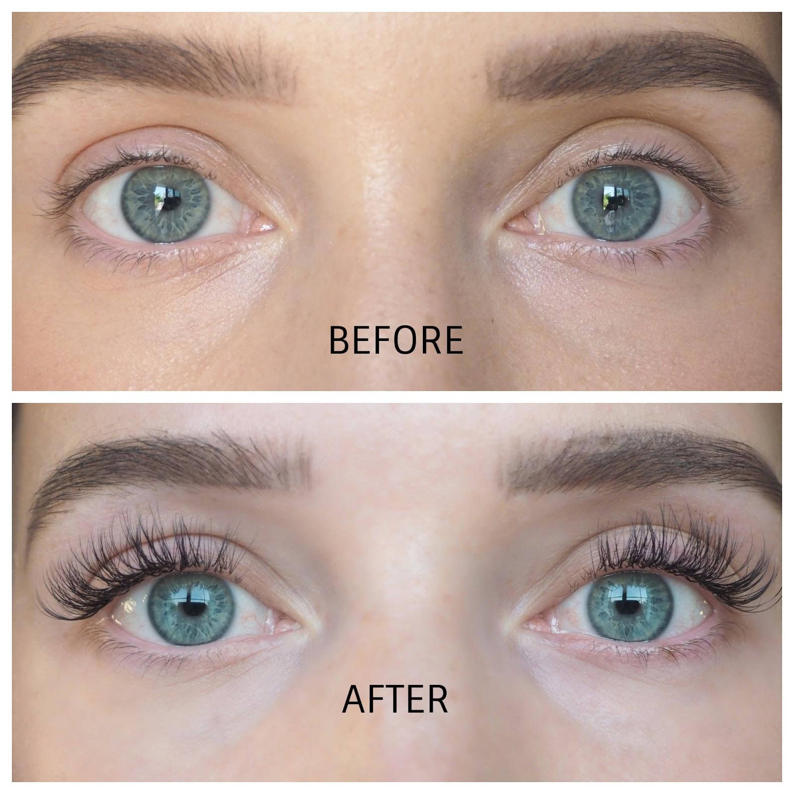 Nouveau Lashes SVS Lash Treatment Review - Before & After