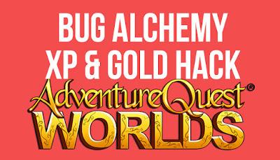 Cara Bug Alchemy AQW